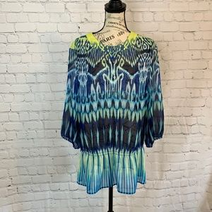 Chico's / Sheer Blouse / Size 2